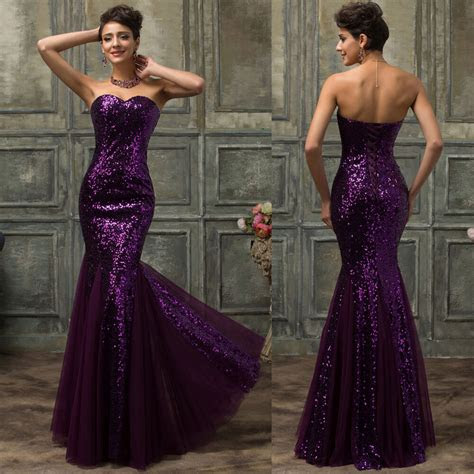 mermaid long masquerade ball gowns formal evening