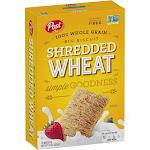 Post Shredded Wheat Original Big Biscuit - 18 count, 15 oz box