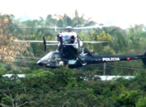 Sarney usa helicóptero do Maranhão em viagem particular