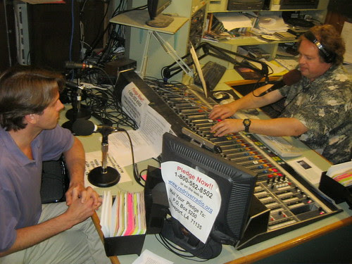 Red River Radio: Michael Butterman, Kermit Poling / photo Karen Wissing by trudeau