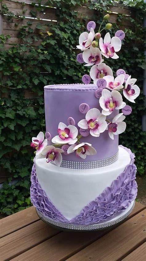 1000  images about Orchid Cakes on Pinterest   Orchid