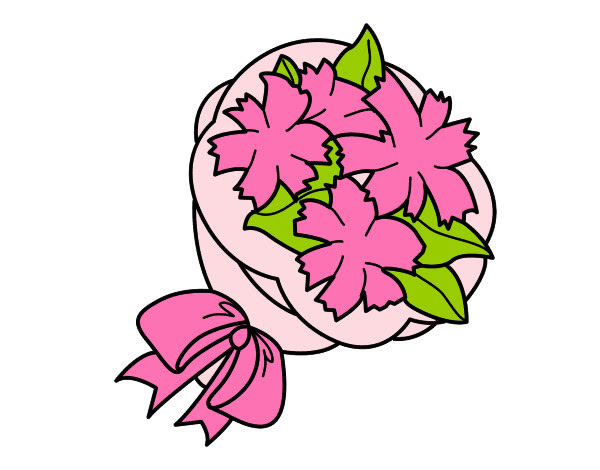 Ramo De Flores Png Dibujo