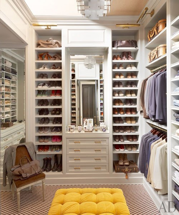 Dressing Room In Various Decorating Styles | InteriorHolic.