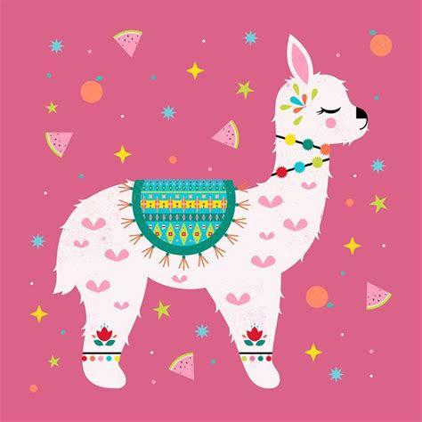 carly watts art illustration art ideas llama arts