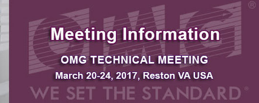 OMG Technical Meeting Information Page - Reston, VA USA