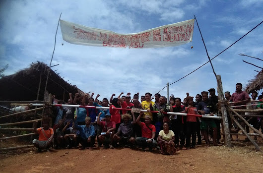 Stop logging the Temiar people's ancestral forest!