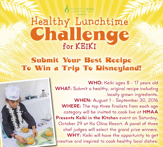 "Win a Trip to Disneyland! Enter ""Keiki in the Kitchen"" by 9.30.16 - Lemonade Alley"