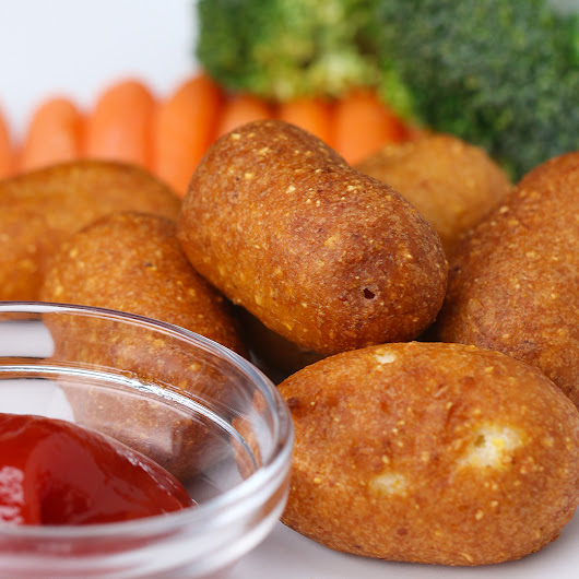Mini Corn Dogs Recipe by Tasty