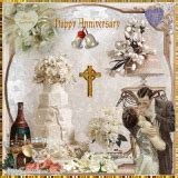 happy wedding anniversary Pictures [p. 1 of 12]   Blingee.com
