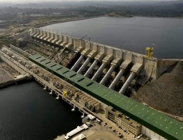 Resultado de imagem para usina hidrelétrica de belo monte