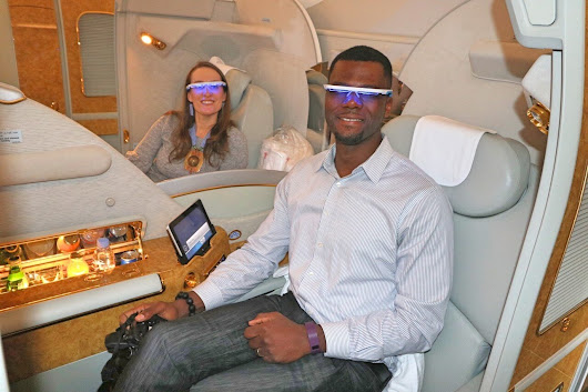 Beat jet lag with this light therapy device: AYO glasses review - World Travel Adventurers | Luxury Travel Blog