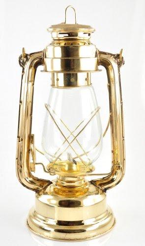 Hurricane Lantern Functional Brass Oil Hurricane Lamp