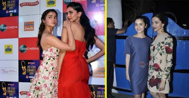 Alia, Deepika laughter filled moments on the red carpet:– see photos