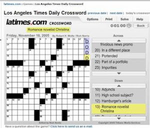 Christina_Dodd_Crossword