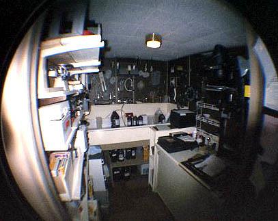 darkroom - fisheye view
