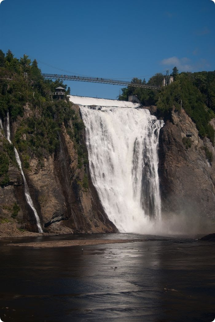 Montmorency Falls, just outside Quebec City