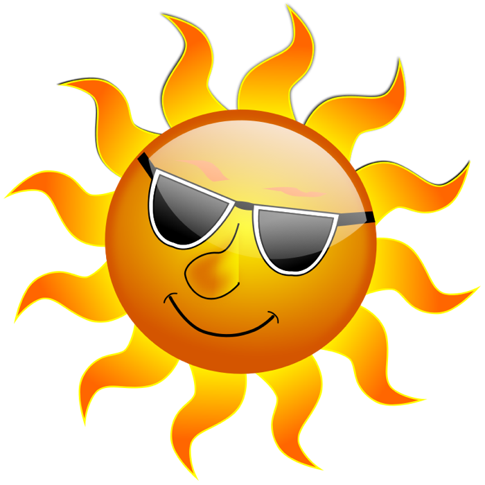 Image result for free graphic sunshine