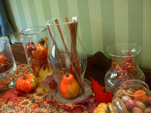 Fall Decorating - How to decorate with vases