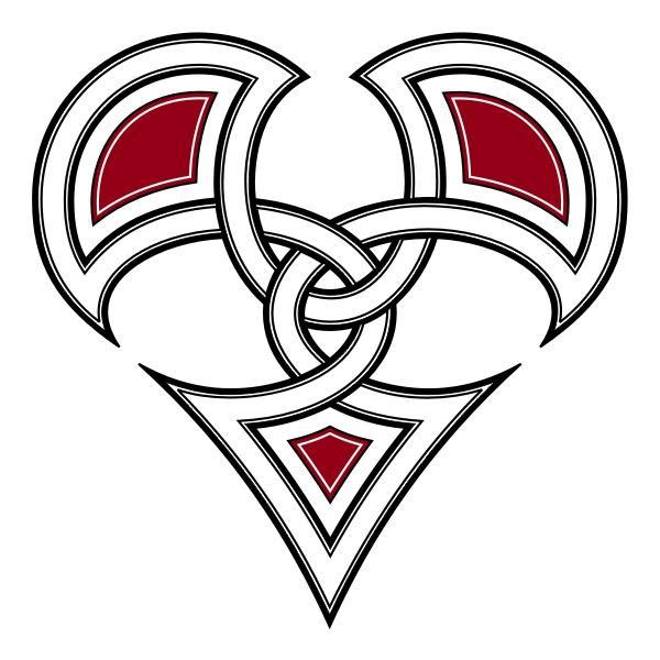 Celtic Heart Tattoo Designs Clip Art Library