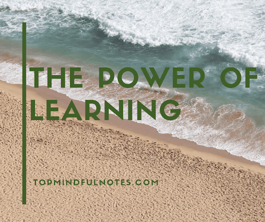 The Power of Learning Something New | Top Mindful Notes