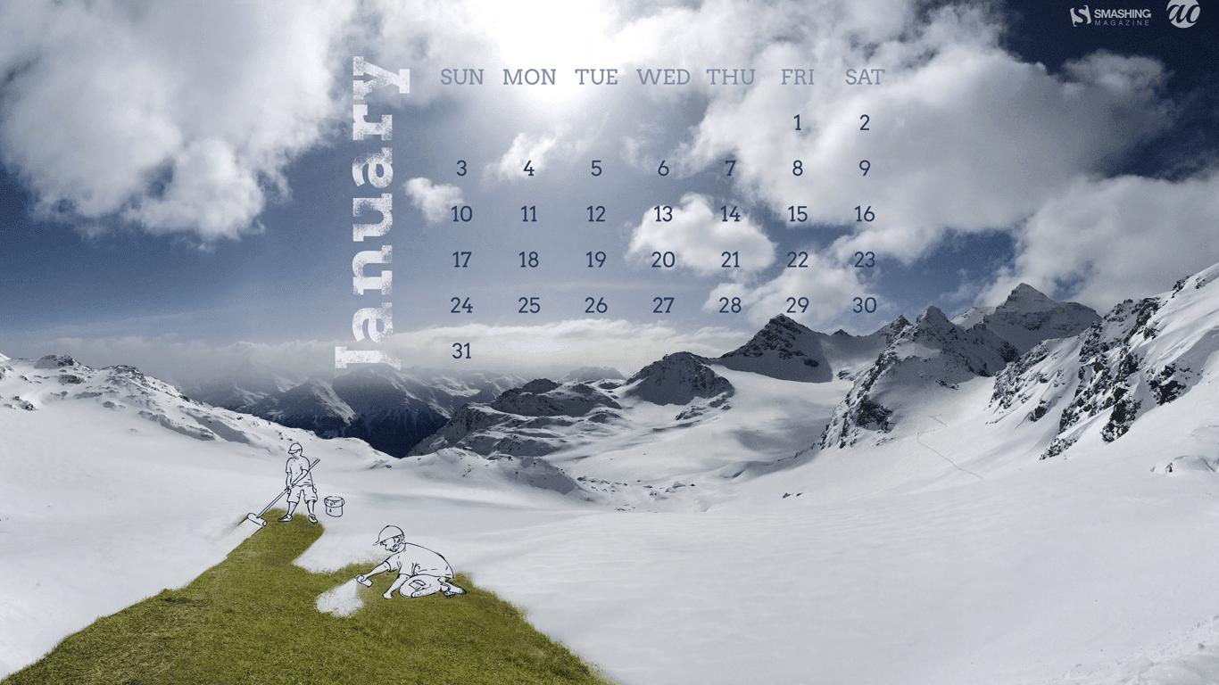 Desktop Wallpapers Calendar January 2017  Wallpaper Cave
