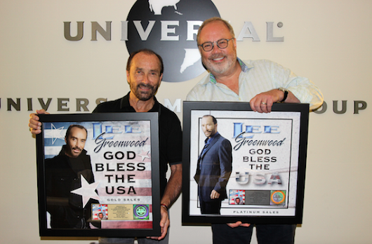 "Lee Greenwood's ""God Bless The U.S.A."" Earns Gold, Platinum Digital Sales"