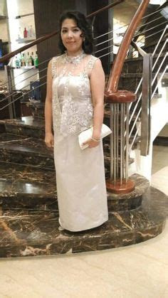 """Principal sponsor """"Ninang"""" gown simple style   gowns in"""