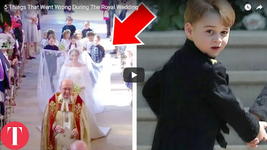 5 Things That Went Wrong During The Royal Wedding - Christianhome11|Verses|Geet Zaboor|Messages|Urdu Audio Bible|Christian Movies In Urdu|Christian Talent|Christian News|