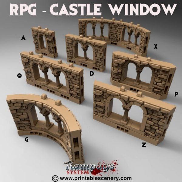 Image result for castle window