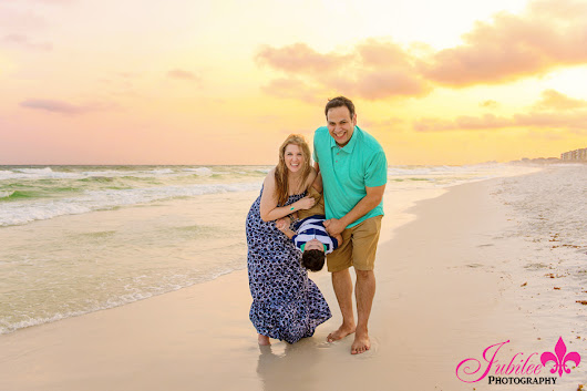Yell Family Sunset Beach Session