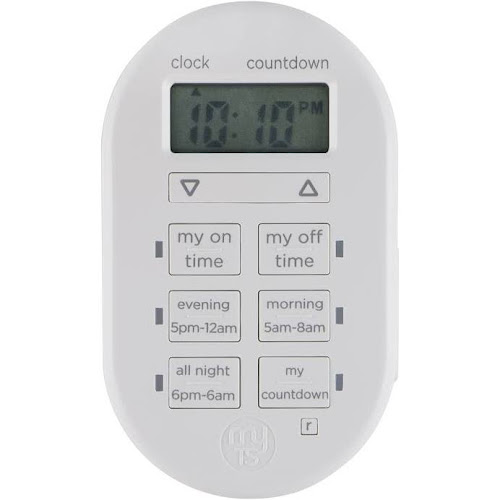 GE My Touch Smart Digital Timer, Indoor/Plug-In