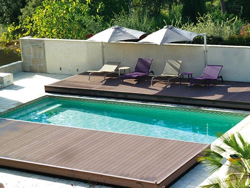 La terrasse de piscine mobile for Construction piscine loi