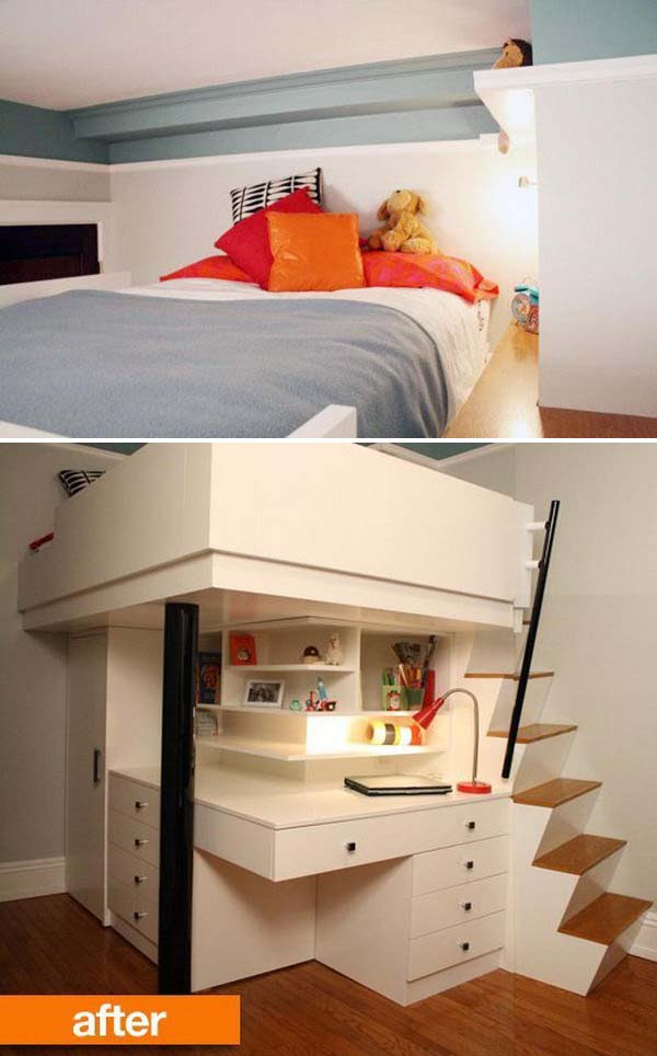 25 loft beds for small rooms 1