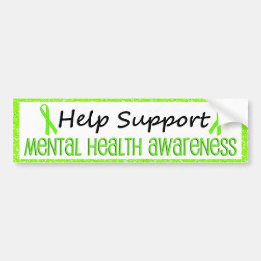 Support Mental Health Awareness Bumper Stickers | Zazzle