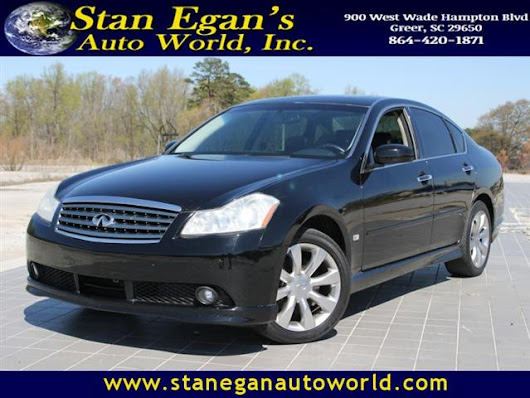 Used 2007 Infiniti M35 for Sale in Greer SC 29650 Stan Egan's Auto World