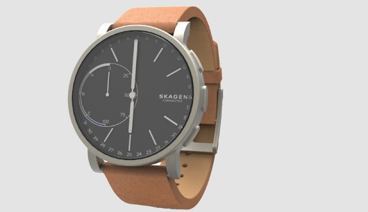 Hagen Connected SmartWatch with standard coin cell battery - GeeksNewsLab