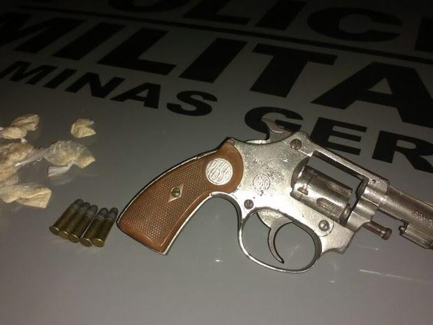 Arma  (Foto: Juliana Peixoto/G1)