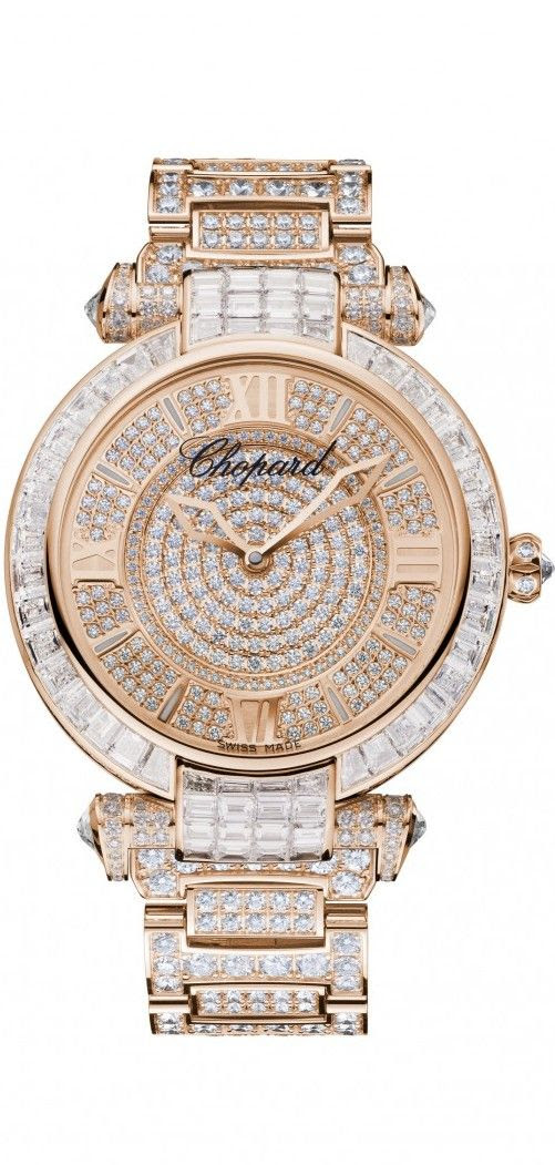 My new gorgeous watch...Chopard ~ Glam Girl