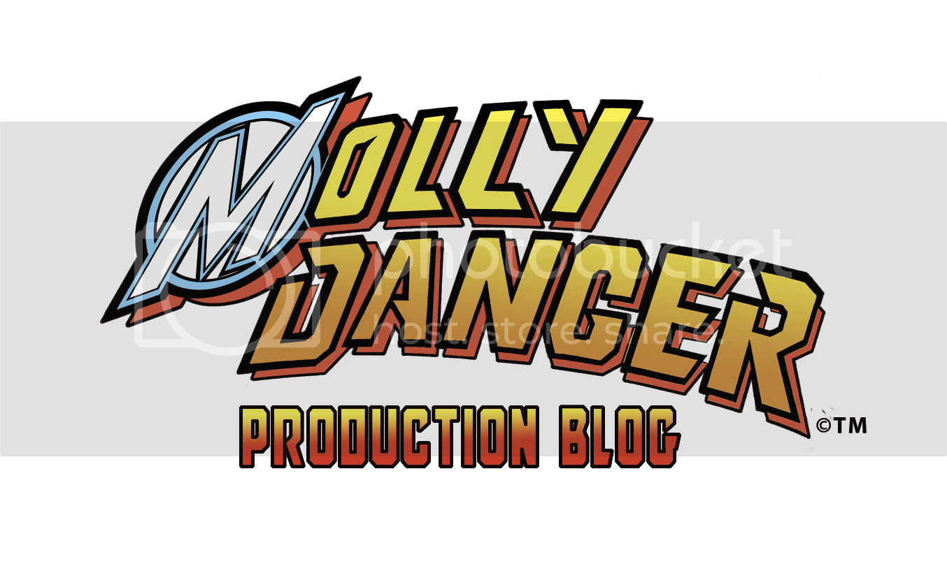 Molly Danger production blog