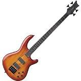 Dean Edge 4 Bass, Trans Amber