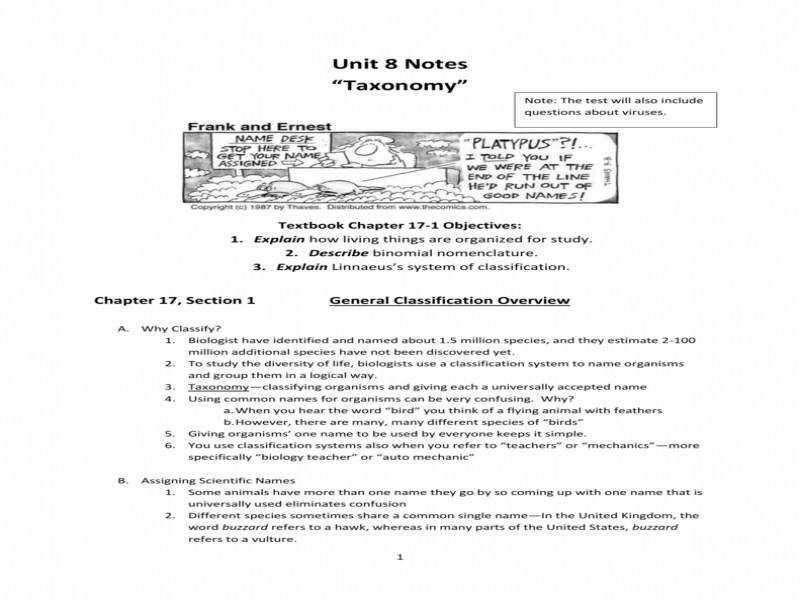 30 Section 18 2 Modern Evolutionary Classification ...