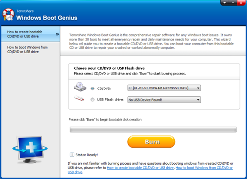 Windows Boot Genius 2.0.0.1 free download