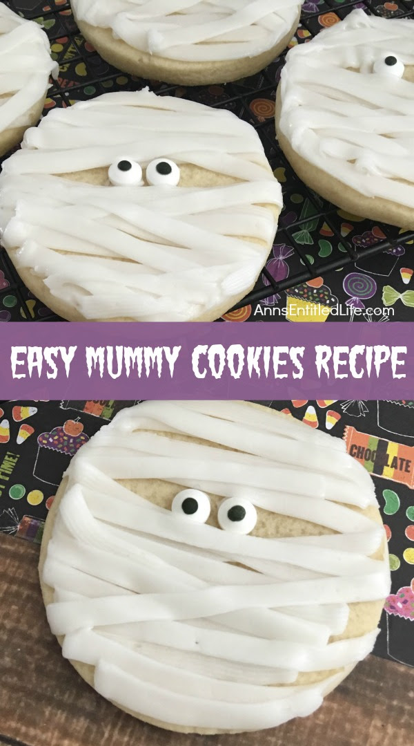 Mummy Cookies Recipe