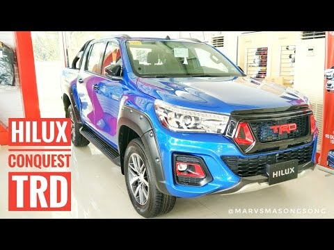 Video: 2019 Toyota Hilux CONQUEST w/ TRD Accessories (Philippines)