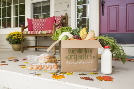 #JoyDelivered - Free Door to Door Organics Fan Love Event Today