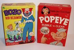 Bozo & Popeye Bubble Bath