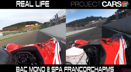 Project CARS - Spa Reality Check Video | VirtualR - Sim Racing News