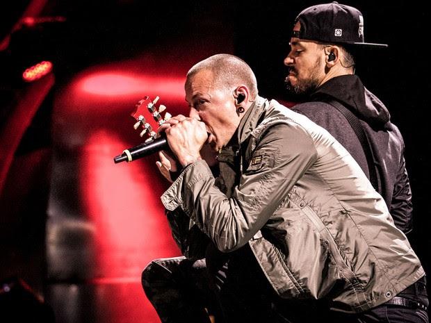30/05 - O Linkin Park se apresenta no Palco Mundo do Rock in Rio Lisboa (Foto: Divulgação/Rock in Rio Lisboa)