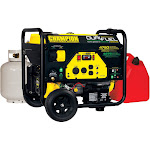 Champion 76533 Dual Fuel Generator with Electric Start, Yellow