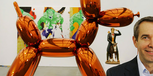 Top 10 World's Richest Living Artists | The world's largest collections of modern furniture design